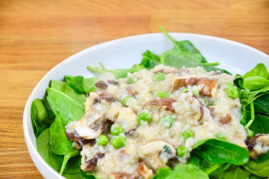Low Carb Blumenkohl-Risotto