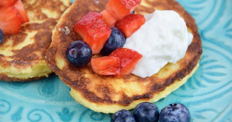 Low Carb Pancakes (glutenfrei, Backprotein)